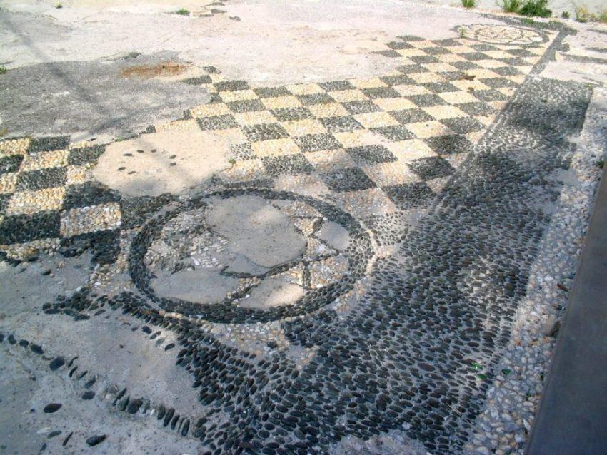Luciano Bonzini Maestro Artigiano | Mosaico e rissêu - Restauro Bargone, San Martino di Tours - Prima